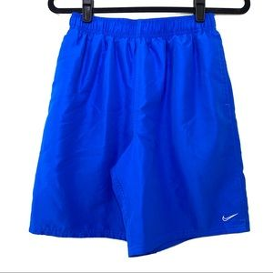 Nike Boys Royal Blue Swim Trunk Shorts